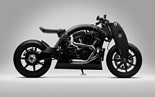 2009 Confederate B120 Wraith custom motorcycle desktop wallpapers