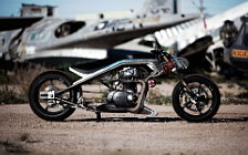 Wallpapers custom motorcycle Icon Low Down and Shifty 2012 Yamaha XS650 1974