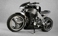 Wallpapers custom motorcycle Lazareth Buell XB 12S Compressor 2008