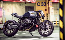 Wallpapers custom motorcycle Onehandmade BMW R nineT Paranoia 2015